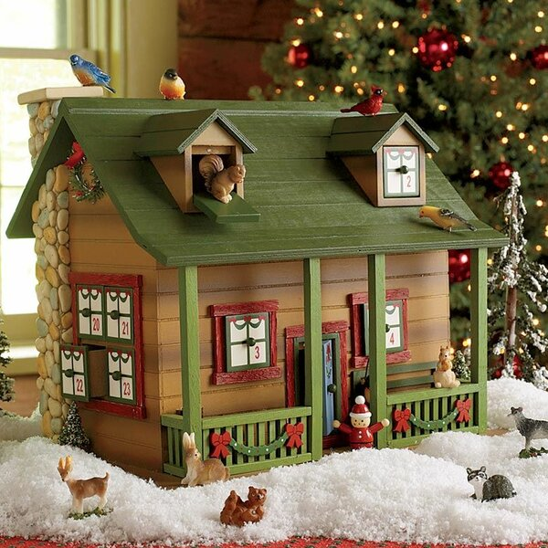 Darling advent cabin calendar