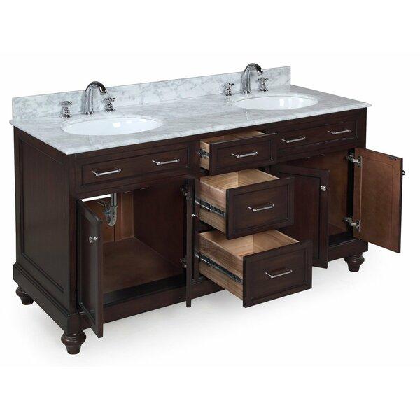 shayla 60 quot double bathroom vanity by kitchen bath