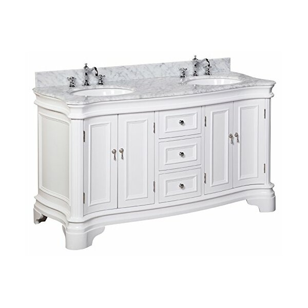 Katherine 60 Double Bathroom Vanity Set By Kitchen Bath Collection Reviews Joss Main