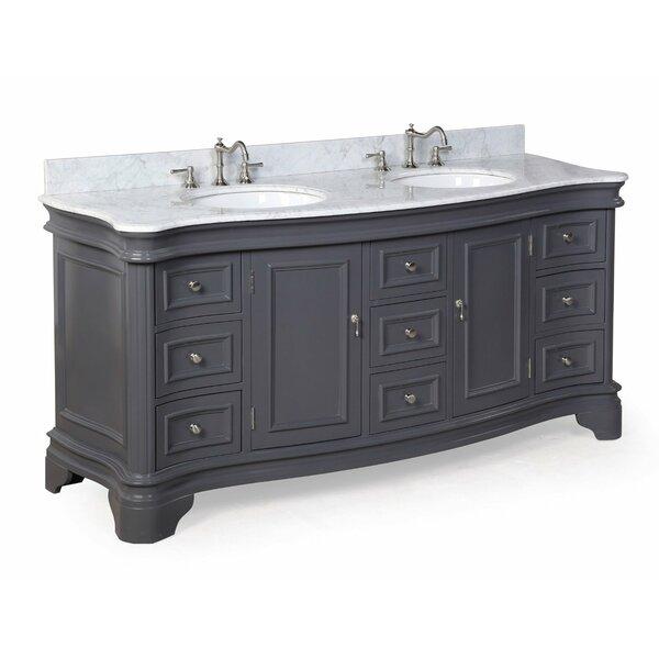 daniels 72 quot double bathroom vanity by kitchen bath