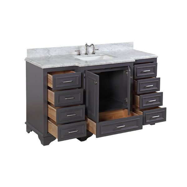 loren 60 quot single bathroom vanity by kitchen bath
