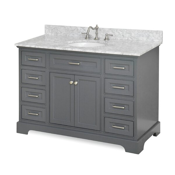 abigail 48 quot single vanity by kitchen bath collection