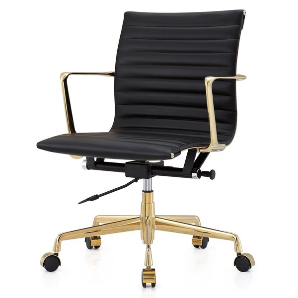 Leather Mid Back Executive Office Chair amp Reviews Joss  : Leather Mid Back Executive Office Chair from www.jossandmain.com size 600 x 600 jpeg 44kB