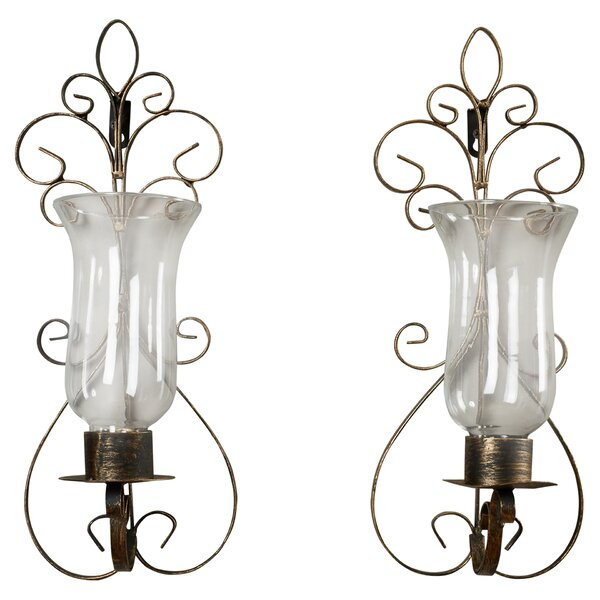 Joss And Main Candle Wall Sconces : Pacetti Wall Candle Sconce & Reviews Joss & Main