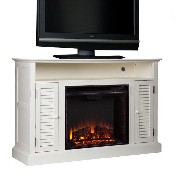 Burlington Media Console Electric Fireplace Reviews Joss Main