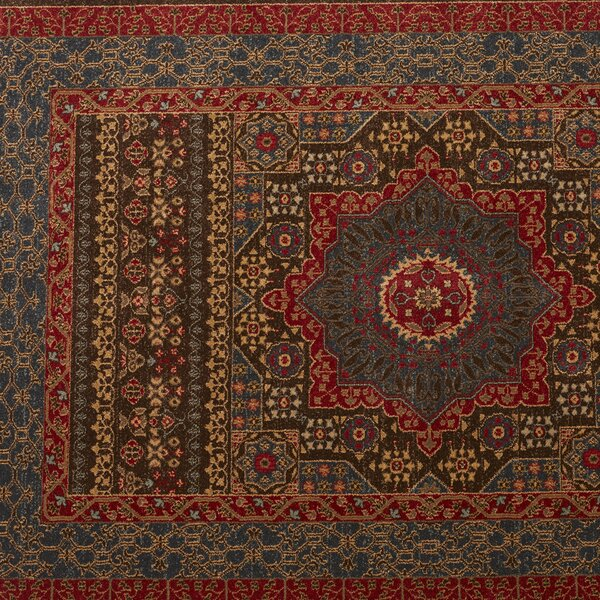 Marvel blue red area rug reviews joss main for Red and blue area rug