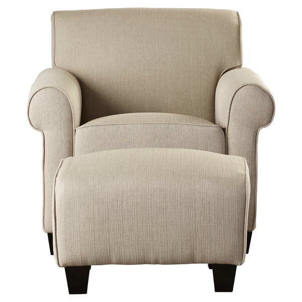 2 Piece Winnetka Arm Chair Amp Ottoman Set Amp Reviews Joss