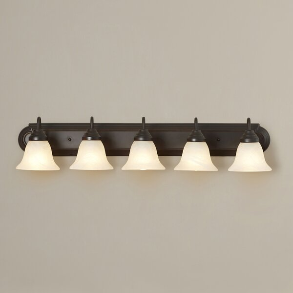 Vanity Light Rough In : Roughfort 5 Light Vanity Light & Reviews Joss & Main