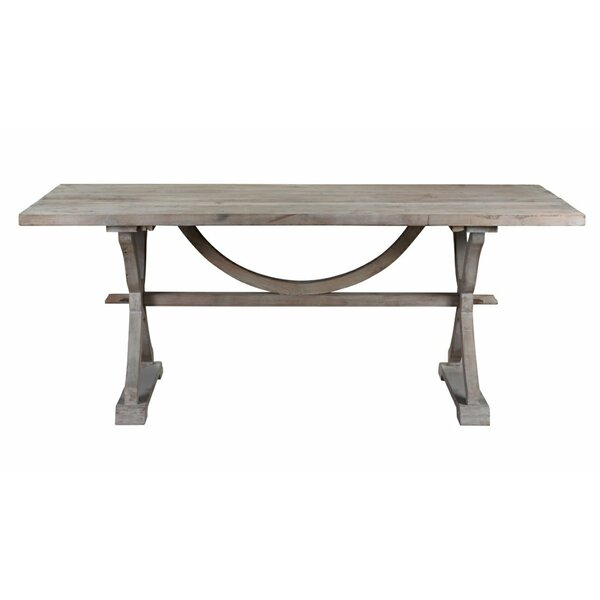 colette reclaimed wood dining table reviews joss main