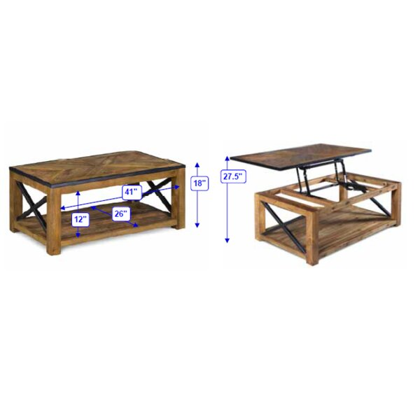 Joss And Main Lift Top Coffee Table: Penderton Lift-Top Coffee Table & Reviews
