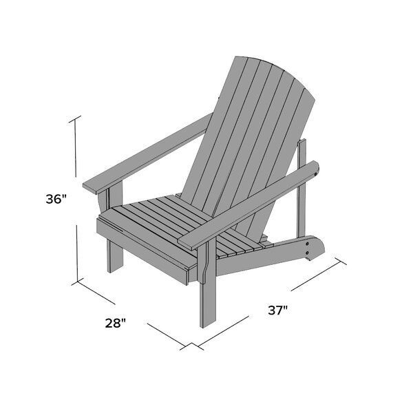 Ollie Adirondack Chair & Reviews