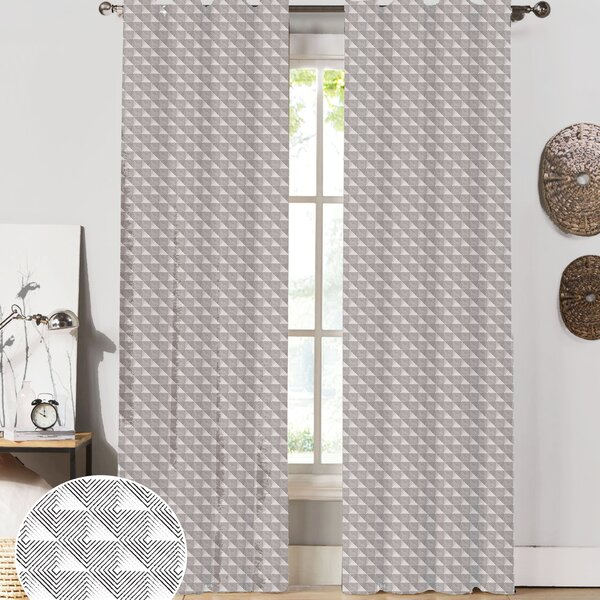 Origami curtain panel reviews joss main for Origami curtain