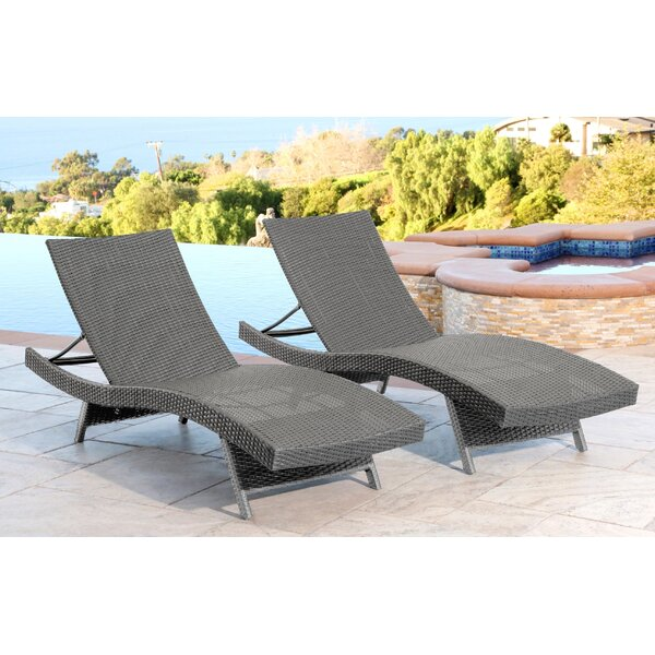 Steven chaise lounge reviews joss main for Black friday chaise lounge