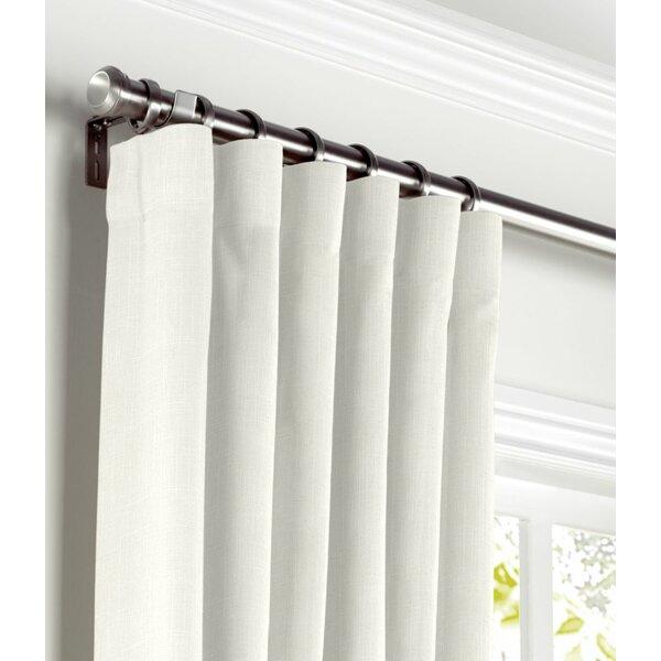 Leon Blackout Pinch Pleat Single Curtain Panel Joss Main