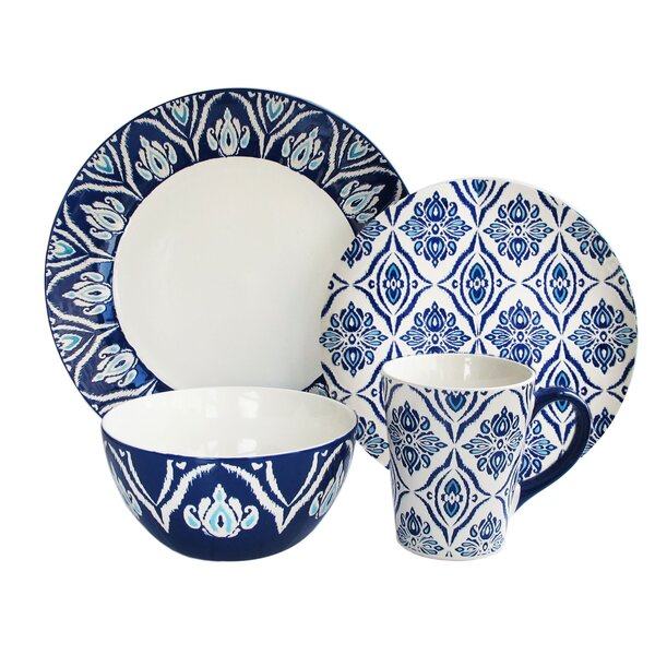 4 Piece Ramona Dinnerware Set Reviews Joss Main