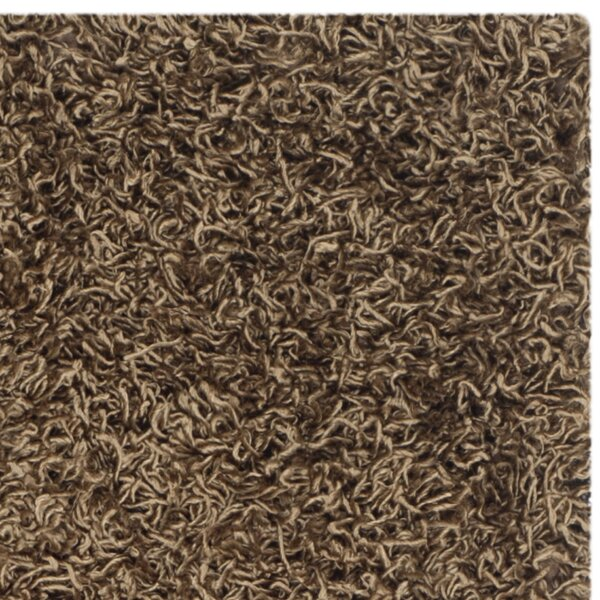 shag light brown area rug reviews joss main. Black Bedroom Furniture Sets. Home Design Ideas