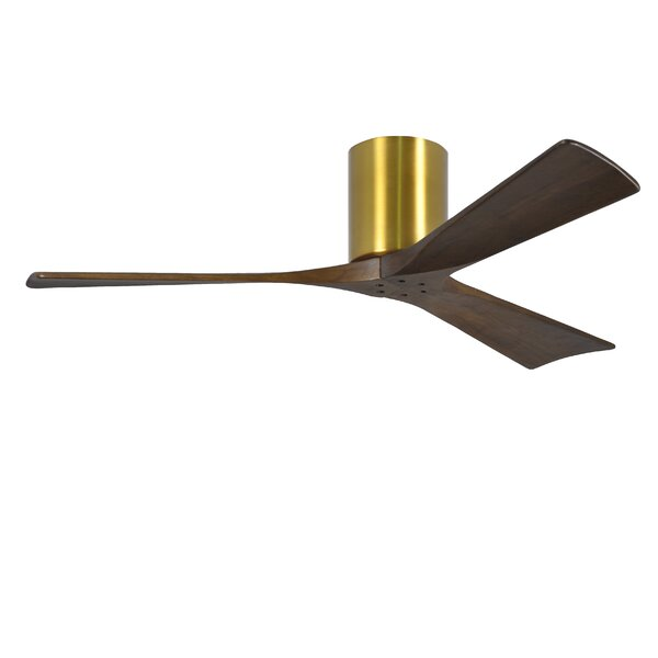 52 Irene 3 Blade Hugger Ceiling Fan With Hand Held And