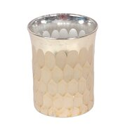 Glass Honeycomb Votive (Set of 4)