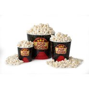 3 Piece Red Carpet Movie Night Popcorn Serving Bowl Set