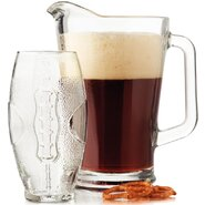 Football 7 Piece Glassware Set