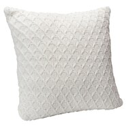 Diamond Sweater Knit Throw Pillow