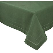 Handmade Double Hemstitch Easy Care Tablecloth