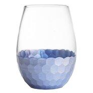20 oz. Daphne Stemless Wine Glass (Set of 4)
