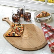 Personalized Gift Delizioso Bamboo Pizza Board