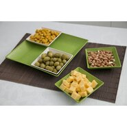 5 Piece Serving and Snack Tray Set