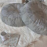 Lara Kulpa Ornamental Round Floor Pillow