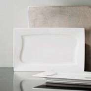 "Dahlia 13.25"" x 8.25"" Rectangular Platter (Set of 2)"