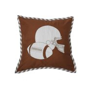 Football Dec Cotton Pillow