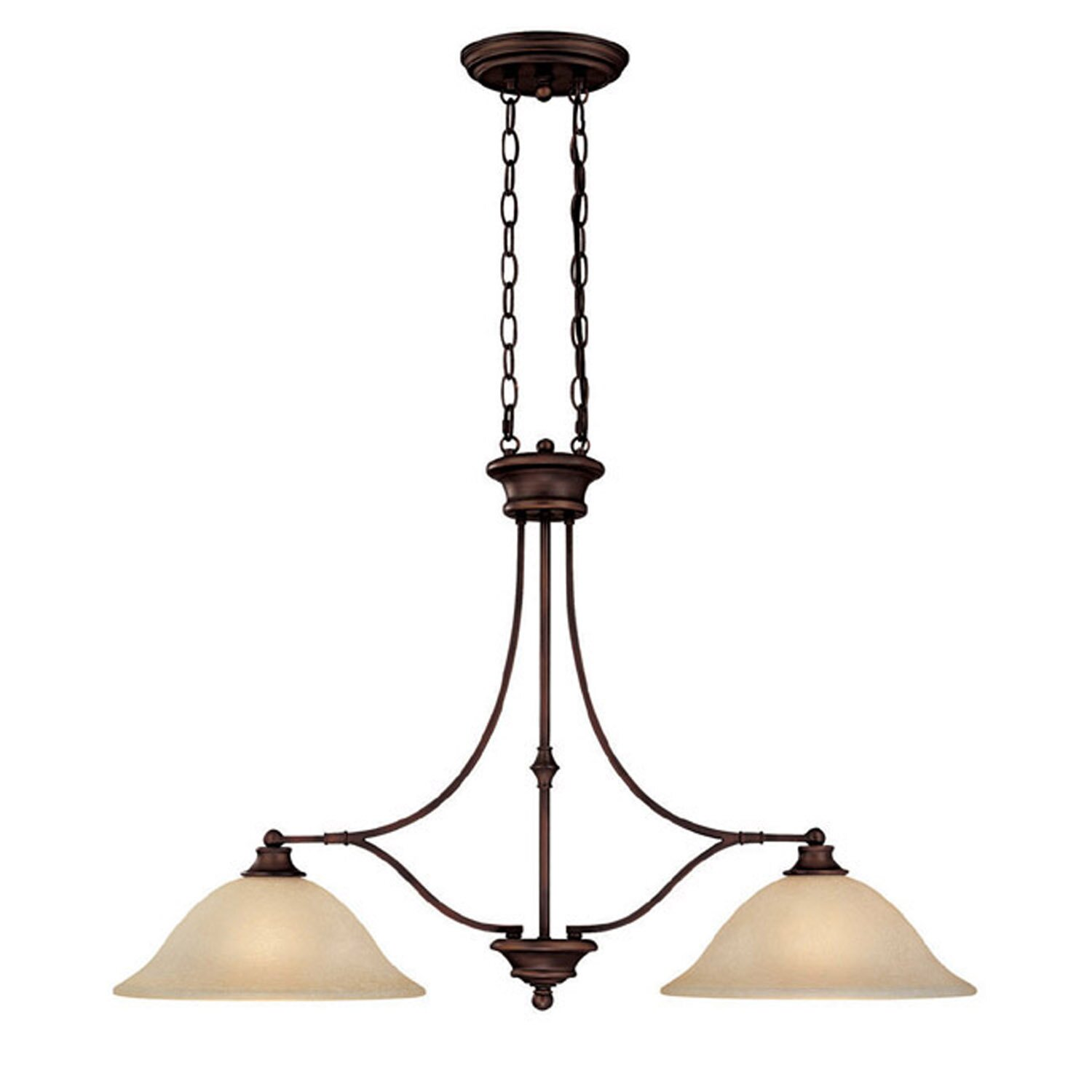 Capital Lighting Belmont 2 Light Kitchen Island Pendant ...