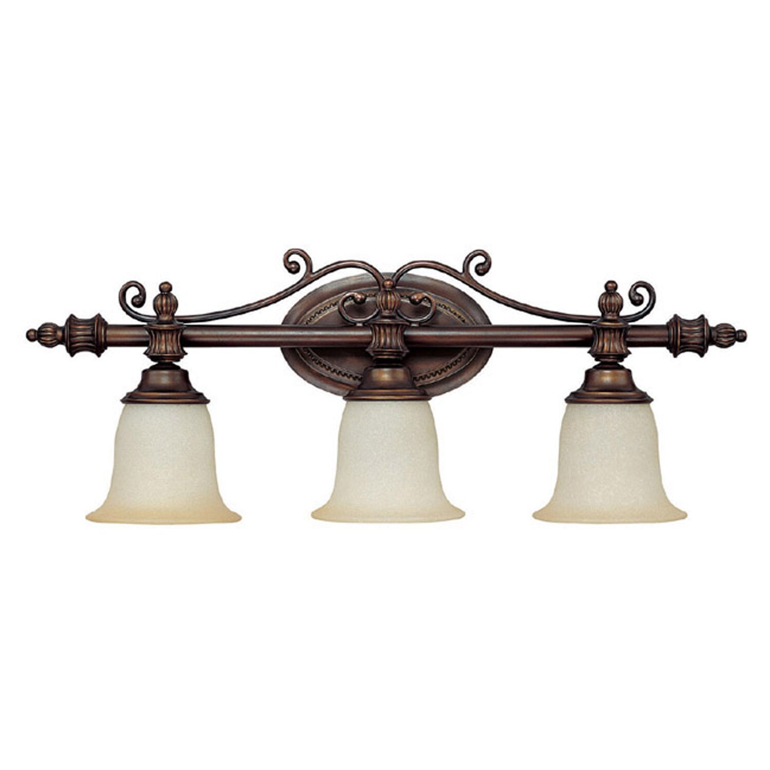 Capital Lighting Avery 3 Light Bath Vanity Light & Reviews