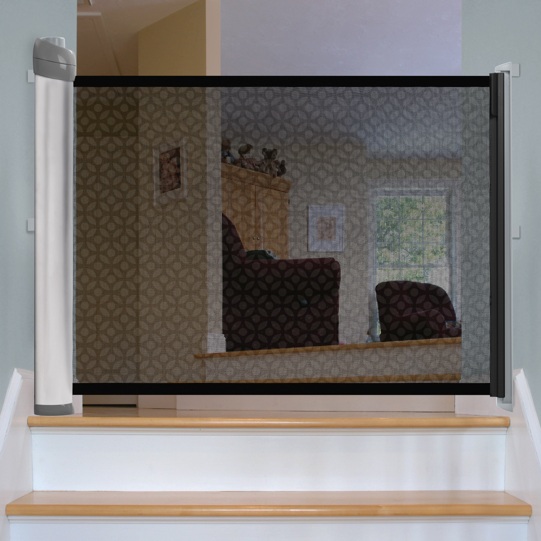 summer infant retractable gate reviews wayfair. Black Bedroom Furniture Sets. Home Design Ideas