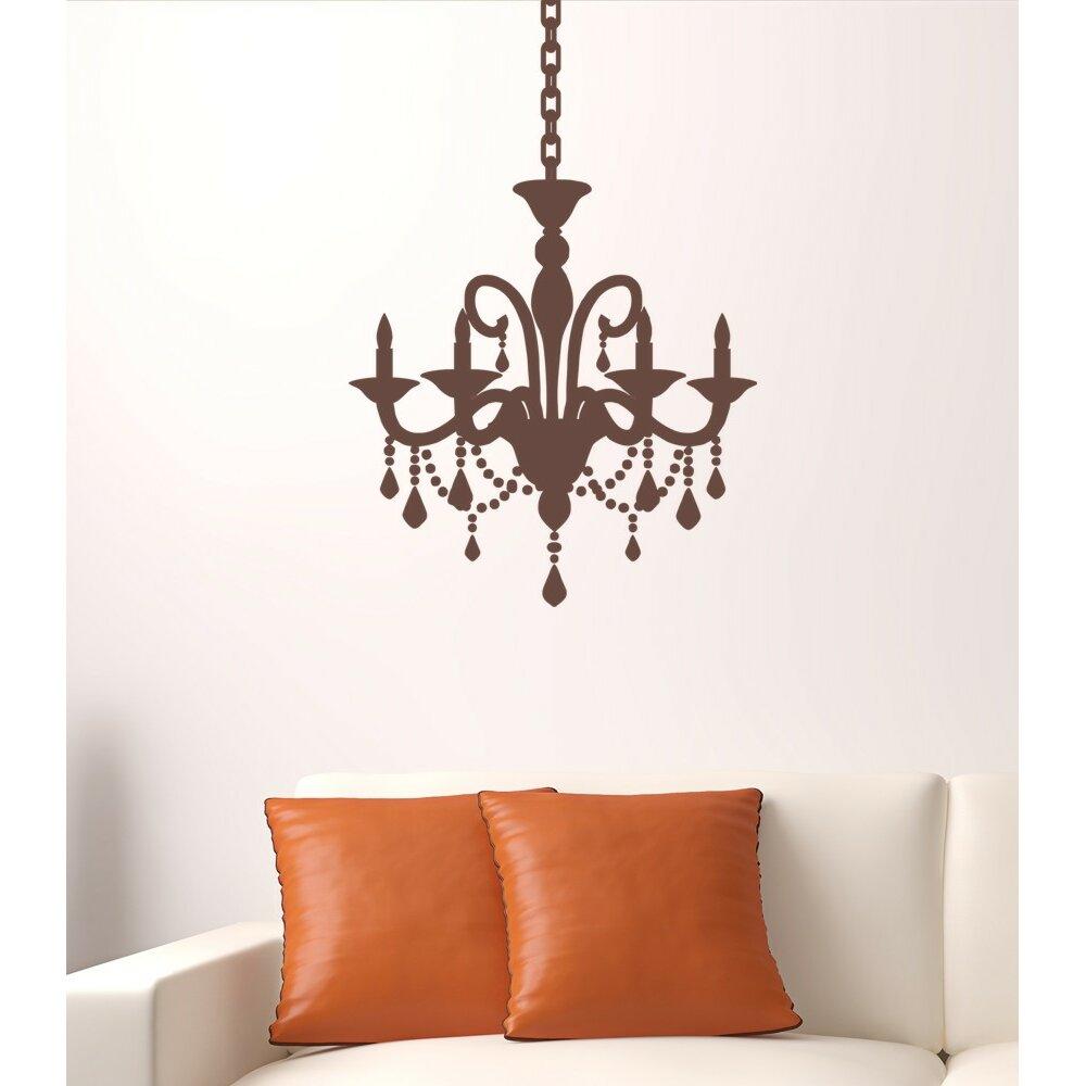 Alphabet garden designs cottage chandelier wall decal for Alphabet garden designs