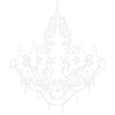 Alphabet Garden Designs Chandelier Wall Decal Reviews