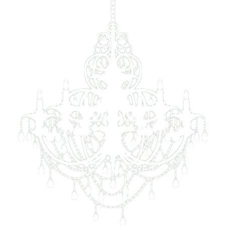 Alphabet garden designs chandelier wall decal reviews for Alphabet garden designs