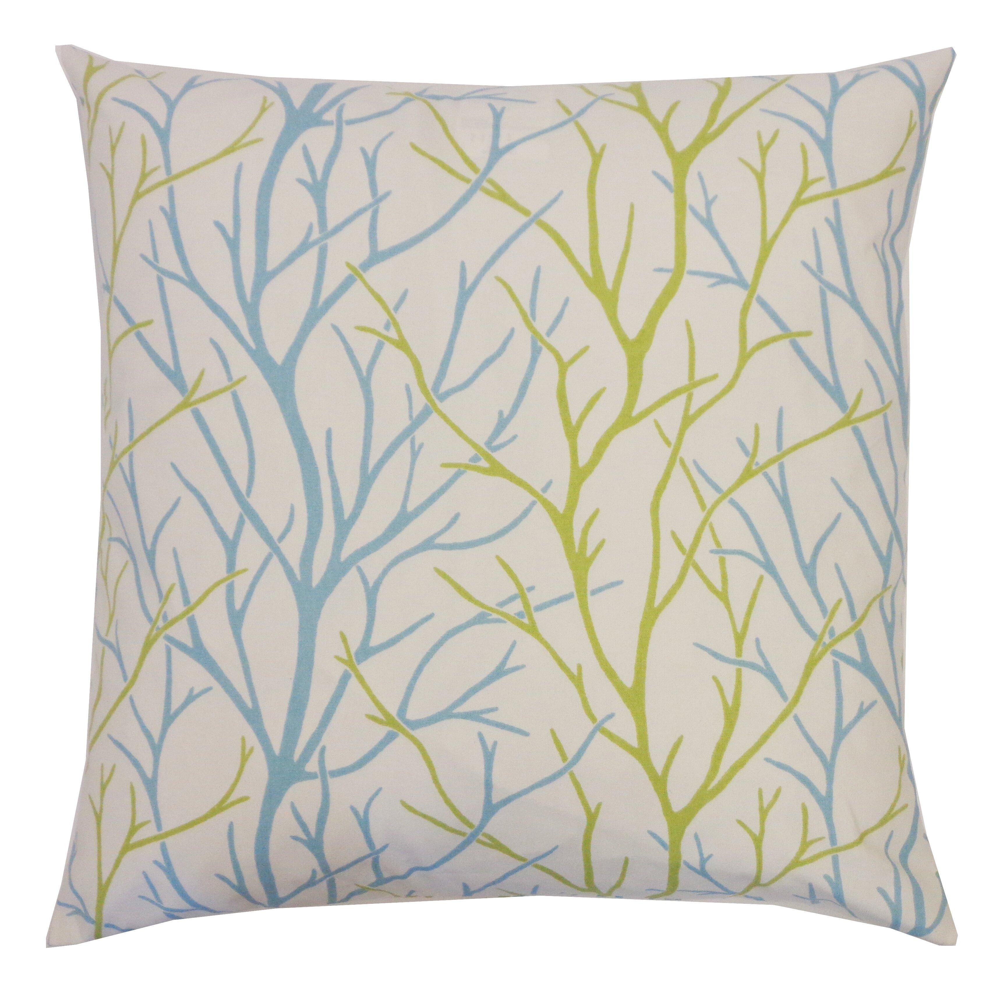 Jiti Tree Cotton Throw Pillow & Reviews Wayfair
