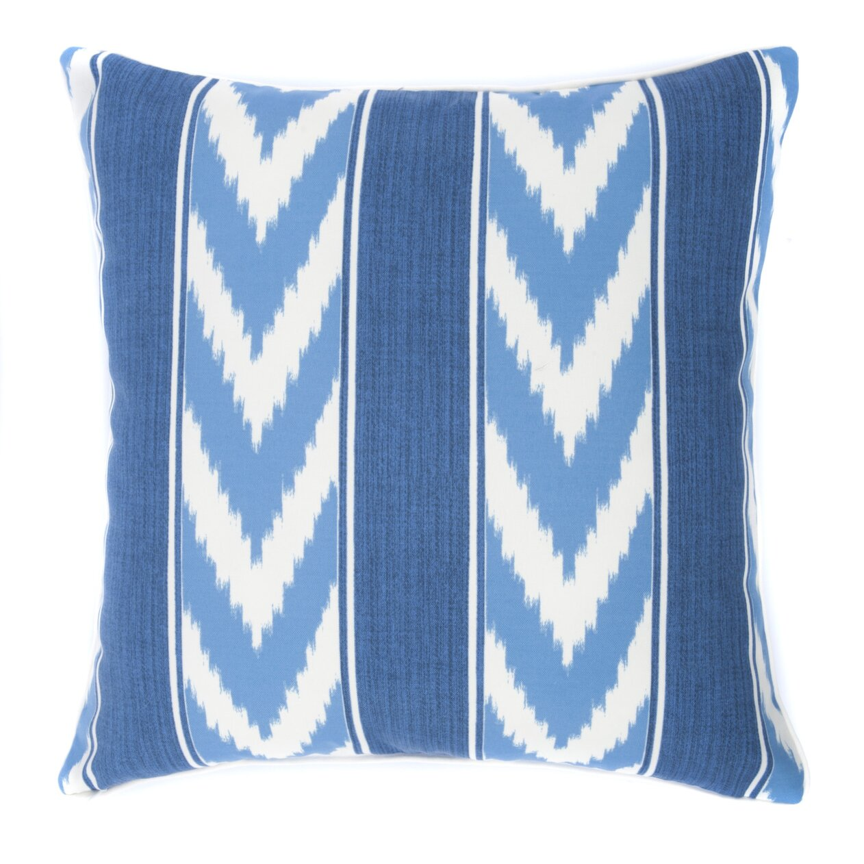 Jiti Decorative Pillows : Jiti Ikat Stripe Outdoor Throw Pillow & Reviews Wayfair