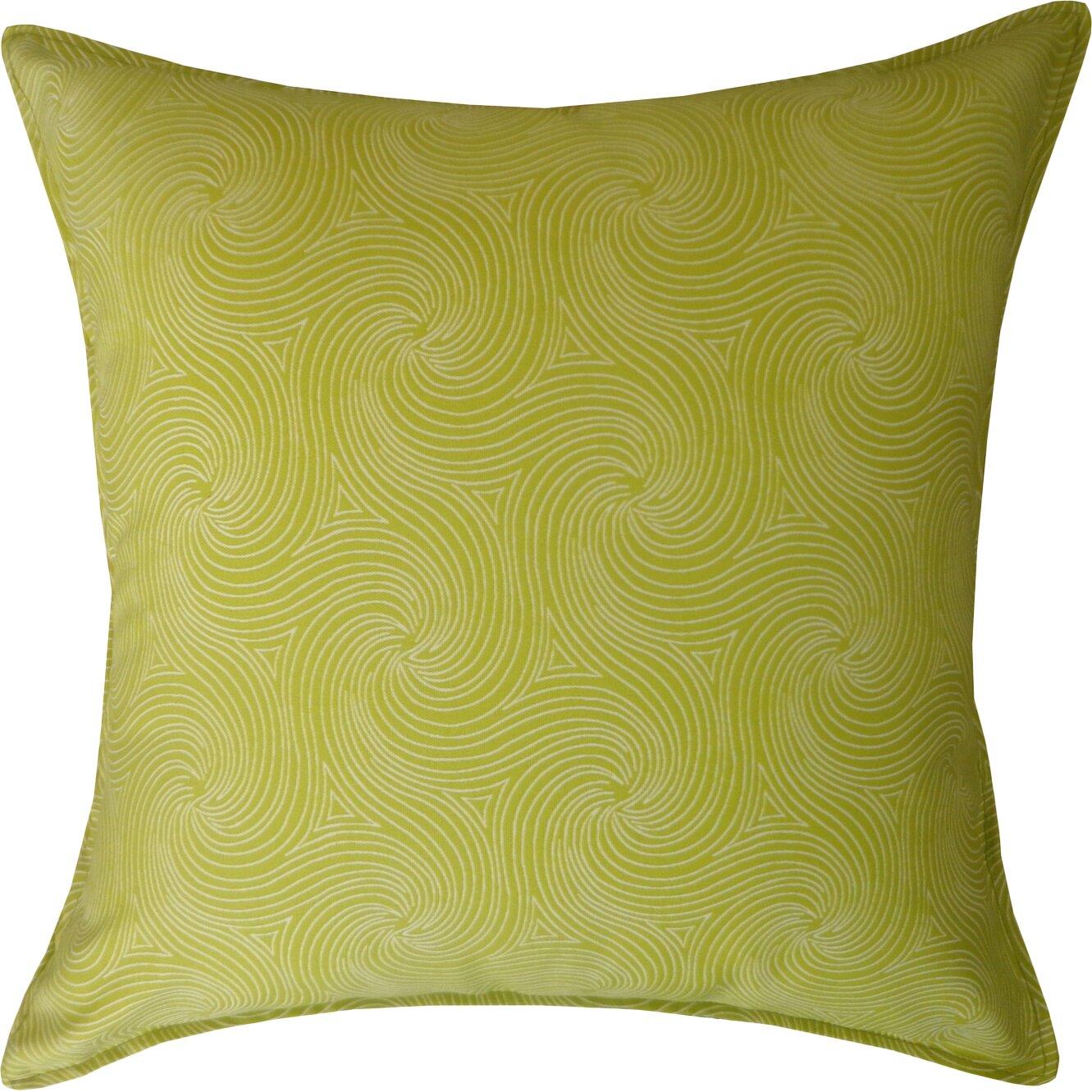 Jiti Swirl Outdoor Throw Pillow & Reviews Wayfair