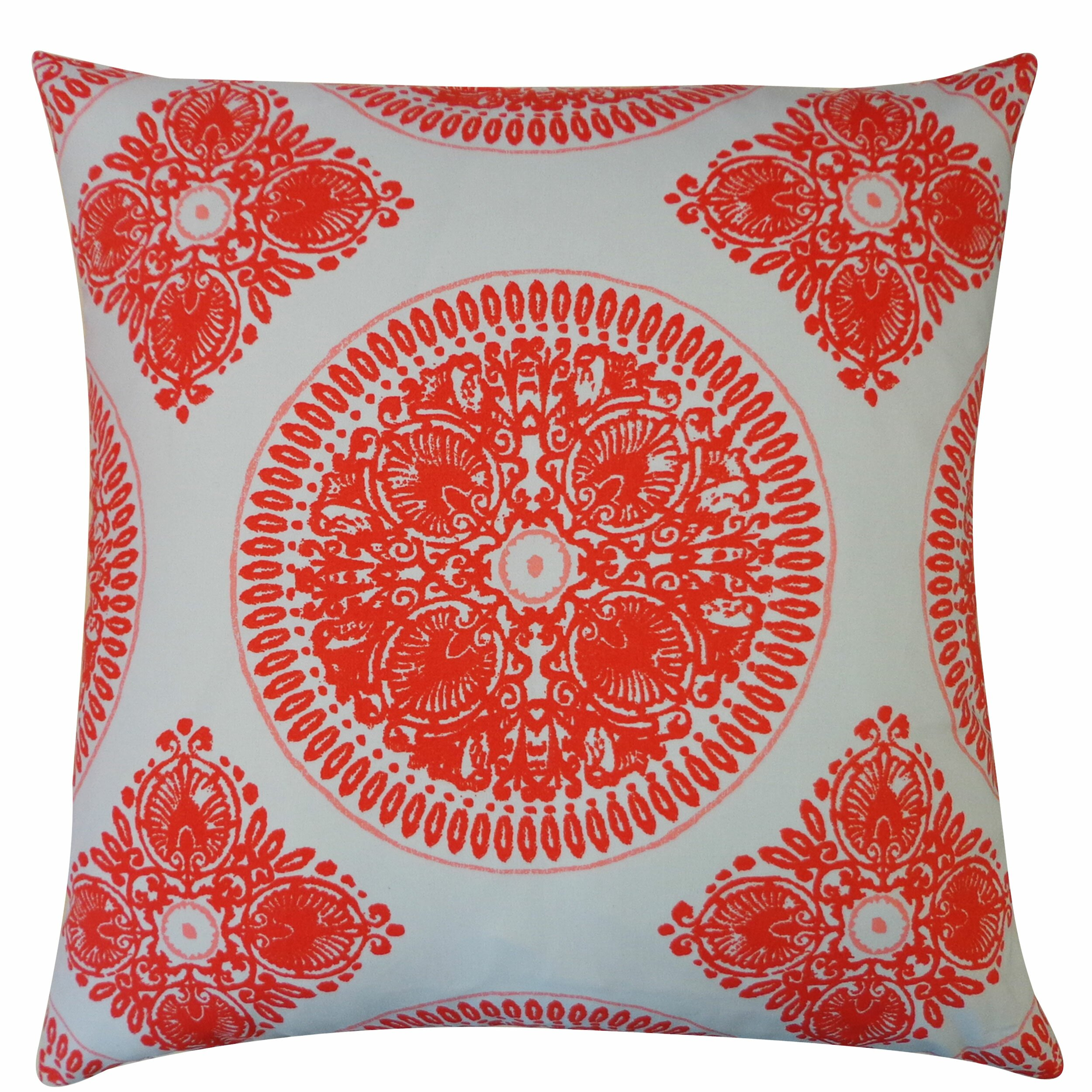 Jiti Medallion Cotton Throw Pillow Wayfair
