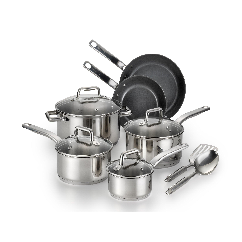 T Fal Precision 12 Piece Cookware Set Reviews Wayfair
