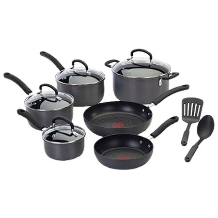 T Fal Ultimate Hard Anodized 12 Piece Cookware Set