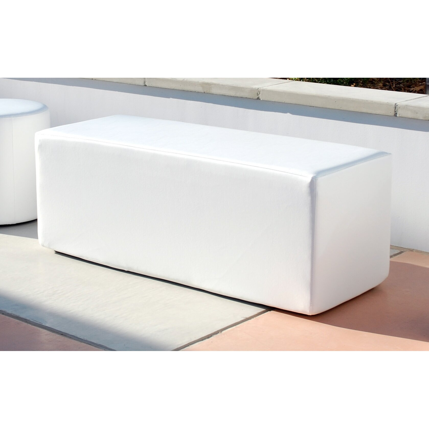 La Fete Dash Vinyl Bench Reviews Wayfair