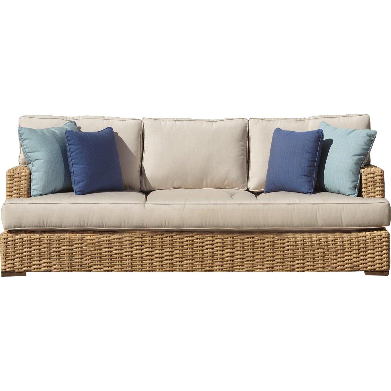 Sunset West Leucadia Sofa With Cushions Wayfair