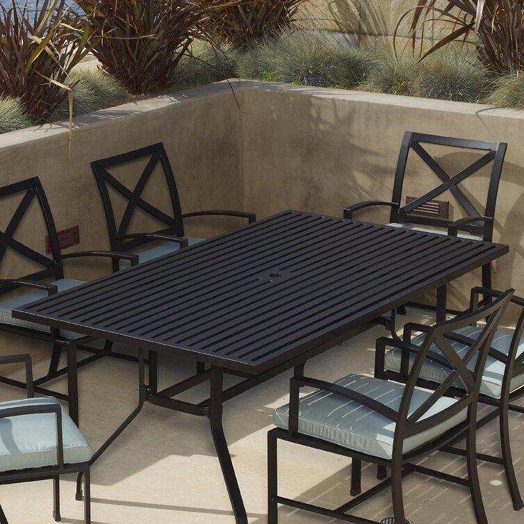 Sunset West La Jolla Rectangular Dining Table & Reviews