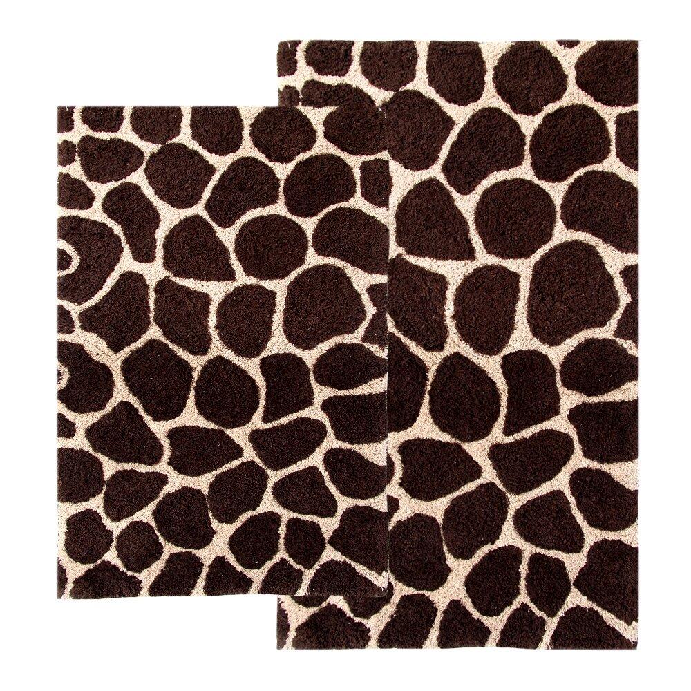 quick view chic zebra print rug