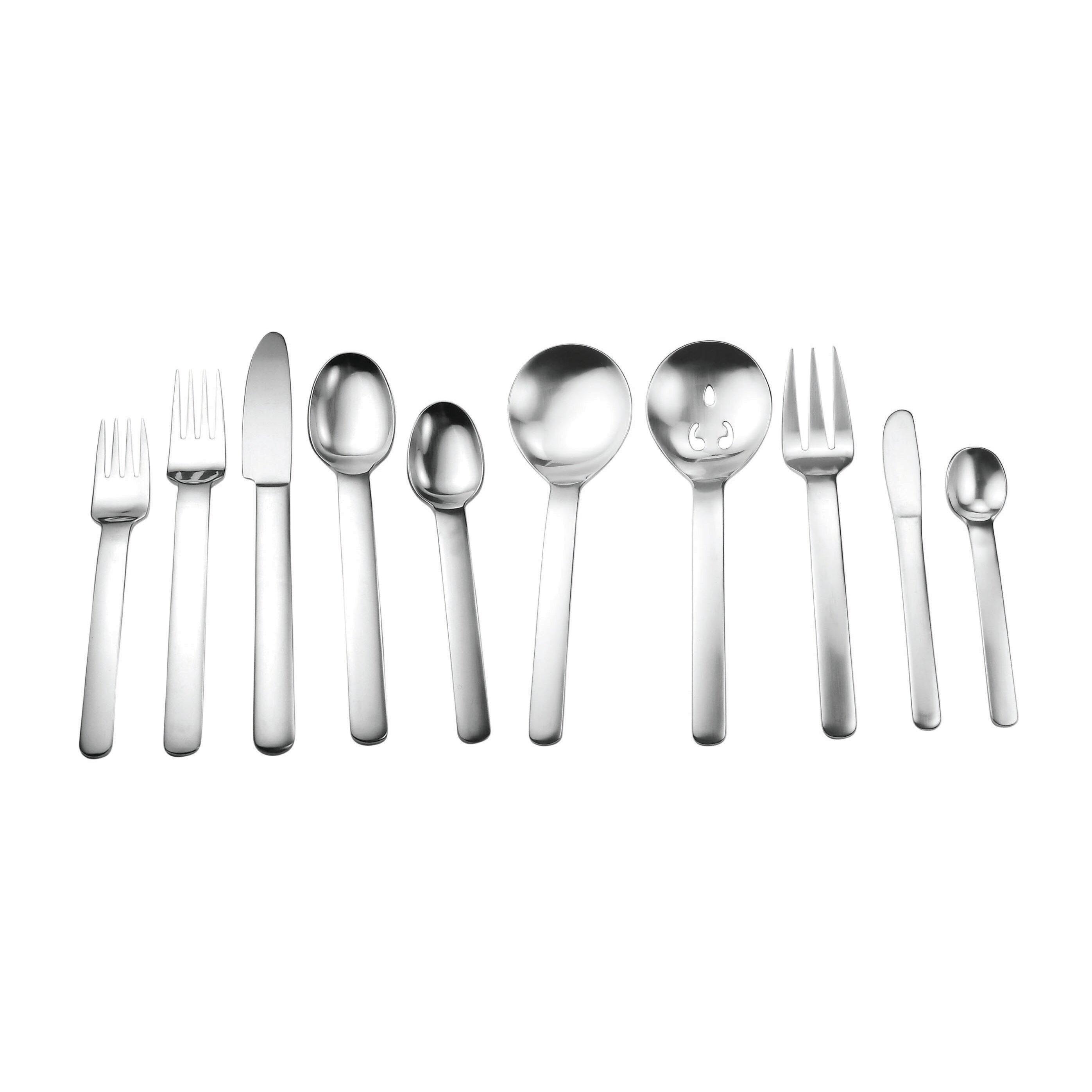 David shaw silverware splendide blizzard 45 piece flatware set reviews wayfair - Splendide flatware ...