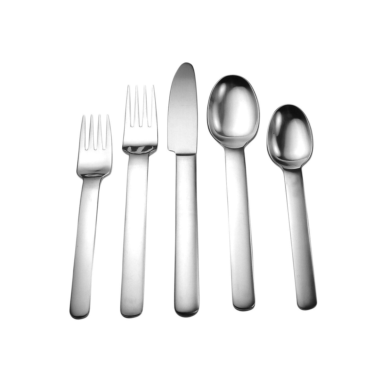 David Shaw Silverware Splendide Blizzard 45 Piece Flatware Set Reviews Wayfair